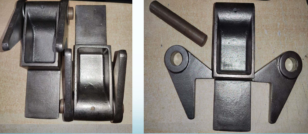 Casting hinge for roll off container. meitu 1